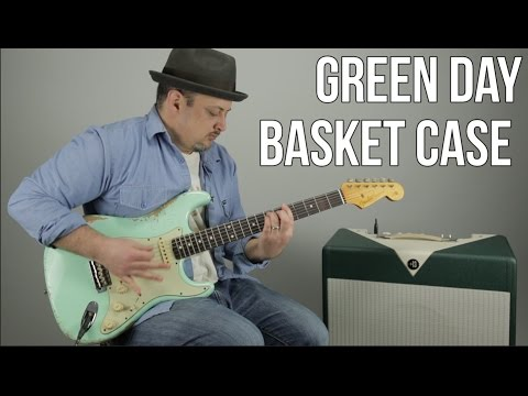 "Green Day ""Basket Case"" Guitar Lesson - How to Play Green Day Tutorial"