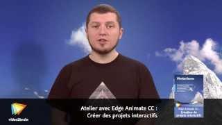 Atelier avec Edge Animate CC : Créer des projets interactifs : trailer | video2brain.com