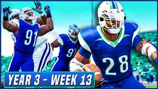 NCAA Football 14 Dynasty Year 3 - Week 13 vs Utah State | Ep.48