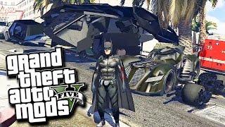 GTA 5 Mods - BATMAN MOD! (Grand Theft Auto 5 PC Mods Funny Moments)