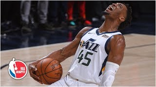 Donovan Mitchell, Jazz avoid being swept with Game 4 win vs. Rockets | NBA Highlights