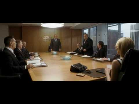 Albert Meets Allegra Cole Hitch Movie Boardroom Scene