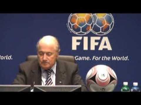 FIFA President Blatter to the ISL/ISMM-trial in Zug