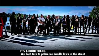 Emilush & Caustic - Its A Hood Thang ft. Maskinisten (Kartellen) & B.G Knocc Out (m/ lyrics)