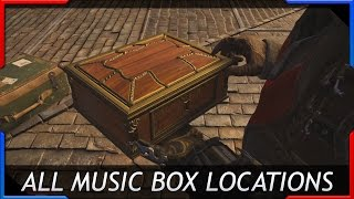 Assassins Creed Syndicate All Music Box Locations Collectables