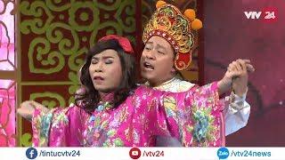 Khi ca sĩ Tuấn Hưng vào vai Thiên Lôi trong Táo Quân | VTV24