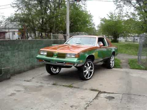 kandy painted cutlass on 24's  get u 1 Music Videos