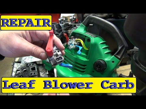 Repairing The Featherlite Fl1500 Blower Part 2 How To