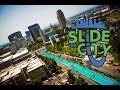 slip and slide -1000 feet!!! - SLiDE THE CiTY