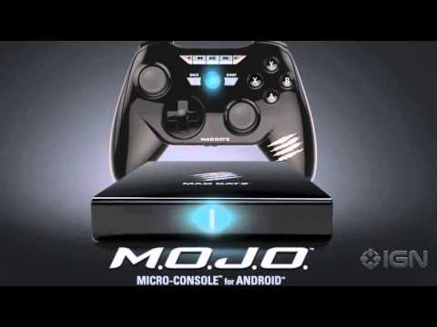 Mad Catz M.O.J.O. Android Console Launching December