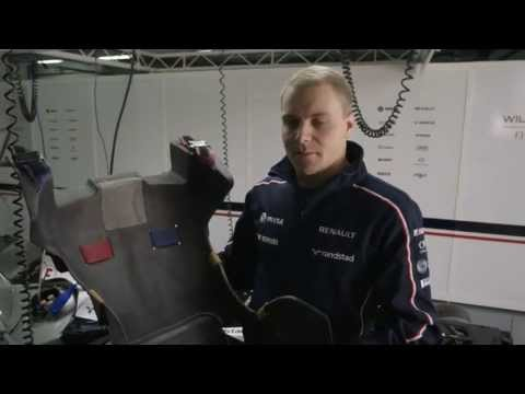 Car features with Valtteri #BOTTAS - Part 4 of 5 - The seat