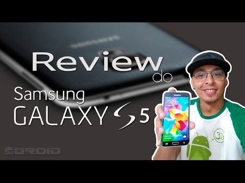 Review do Samsung Galaxy S5 (em português)