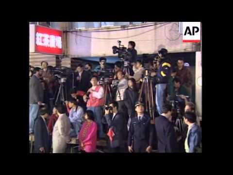 TAIWAN: PRESIDENT LEE TENG HUI WINS LANDSLIDE VICTORY IN ELECTION