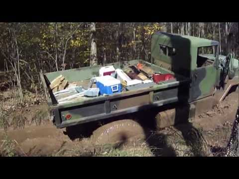 Rausch Creek Steel Soldiers Fall 2012 Bobbed Deuce mudhole.MP4