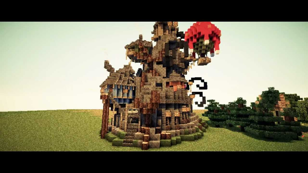 Minecraft Magical Buildings