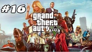 Grand Theft Auto 5 (GTA 5) Gameplay 16. Bölüm Uçak Peşinde Geçti Ömrüm HD