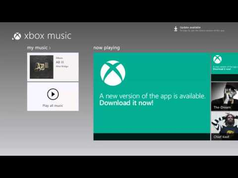 Music App (xbox music) for Windows 8