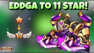 Idle Heroes (S) - 11 Star Eddga Is Born! - Mass Summoning