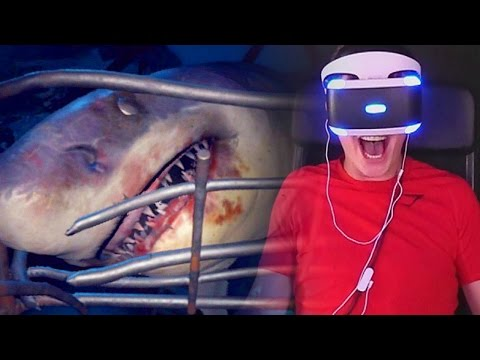 SHARK ATTACK! - Playstation VR Shark Encounter Gameplay
