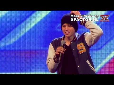 X FACTOR 2011 - aflevering 1 - auditie Tim