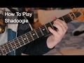 The Shadows Shadoogie Live Version Guitar Tutorial mp3