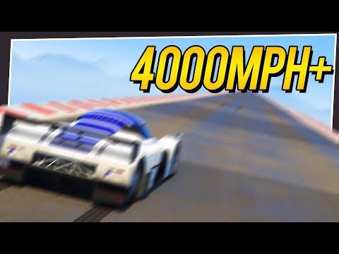 GTA 5 - I BUILT THE LONGEST POSSIBLE TOP SPEED ROAD