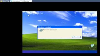 Formateo e Instalación de Windows Xp SP2