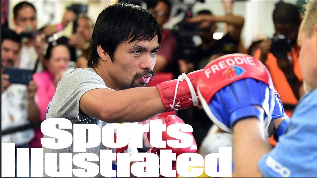 Manny Pacquiao talks Adrien Broner, Floyd Mayweather rematch, More | SPORTS ILLUSTRATED