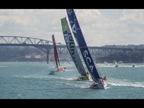 Leg 5 start replay | Volvo Ocean Race 2014-15