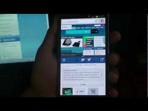 How to use Split-Screen Multitasking on Samsung Galaxy Note 2