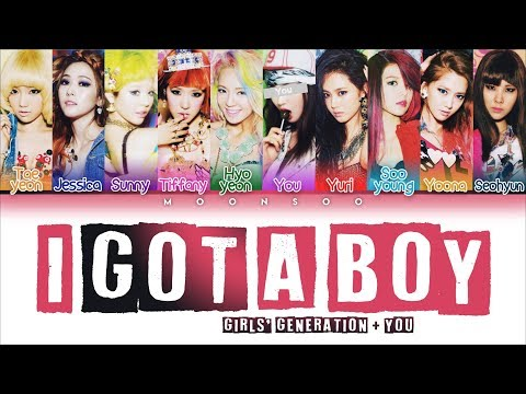 Girls' Generation (소녀시대) - I Got A Boy [10 Members Ver.] + YOU As A Member (Color Coded Han|Rom|Eng)