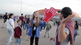 Video: Meeting Russia's World Cup volunteers