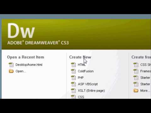 Adobe Dreamweaver Websites Adobe Dreamweaver Introduction