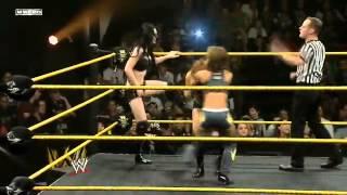 WWE NXT 4 Diva Tag Team Match