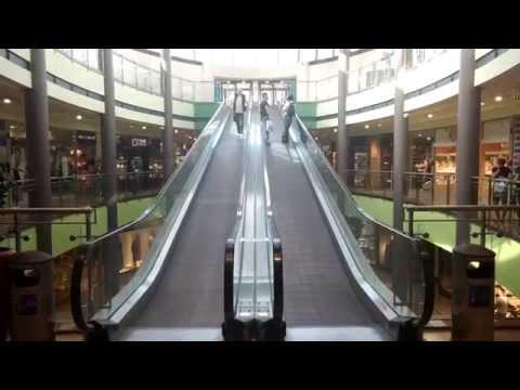 Galeria Lodzka Shopping Center Lodz, Poland In 4k Ultra HD (LG G3)