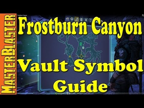 Borderlands 2 Frostburn Canyon Cult Of The Vault Symbol Locations