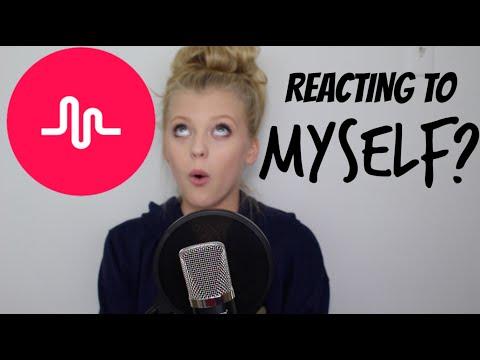 REACTING TO... MYSELF? | Loren Gray