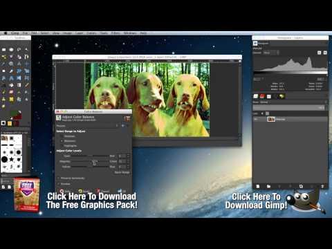 How to Use Gimp   Free Photoshop Alternatives