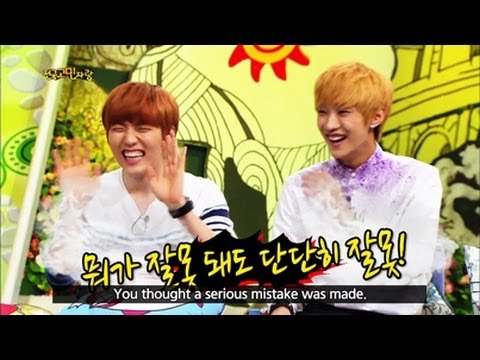 Hello Counselor - with Sandeul & Jinyoung of B1A4, Eunji & Chorong of Apink! (2013.08.26)