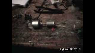 regen acceleration at very low RPM with a DC motor take apart 2013