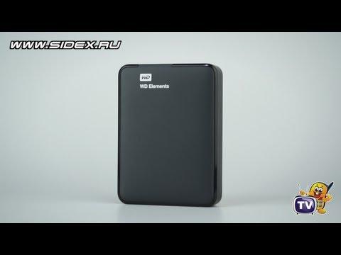 Sidex.ru: WD Elements Portable USB 3.0 - вношниК HDD 2,5