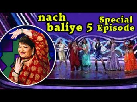 Nach Baliye 5 - Saroj Khan MAKES CONTESTANTS DANCE on EK DO TEEN 16th February 2013 FULL EPISODE
