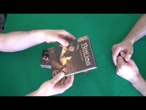 Biblios - играем в настольную игру