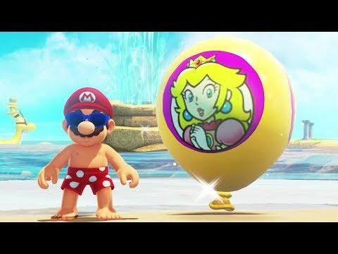 Super Mario Odyssey - Balloon Hiding Spots in All Kingdoms (Luigi's Balloon World DLC)