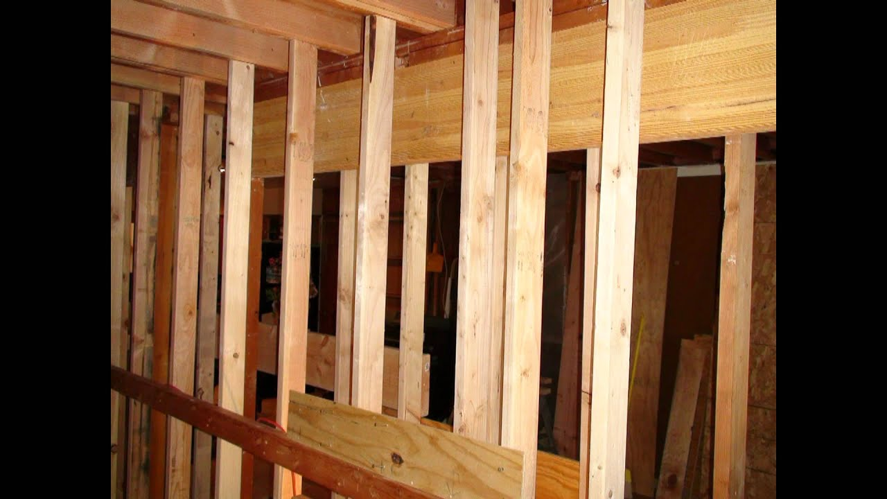 Foremost home solutions load bearing wall removal youtube for Removing part of a load bearing wall
