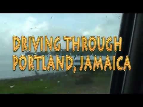 Driving Through St. Thomas,Jamaica And Portland, Jamaica plus Port Antonio