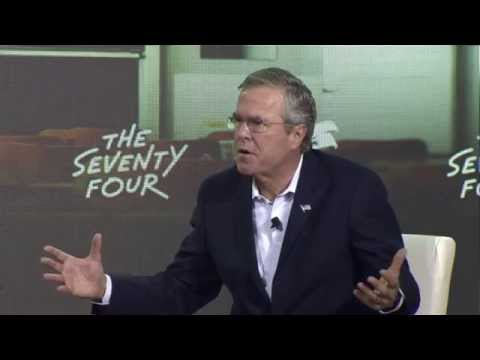 Jeb Bush Speaks at the 2015 New Hampshire Education Summit