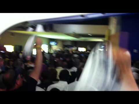 "Fans chant ""Z-Bo"" following Grizzlies playoff victory"