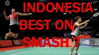 INDONESIA, BEST ON SMASH ? - Badminton