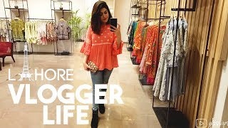 VLOGGER LIFE IN LAHORE | KHAADI Try-On Haul | AODOUR Blogger's Meet | GLOSSIPS